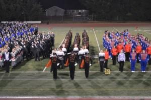 Drum Majors Salute